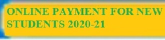 Online Payment for new students